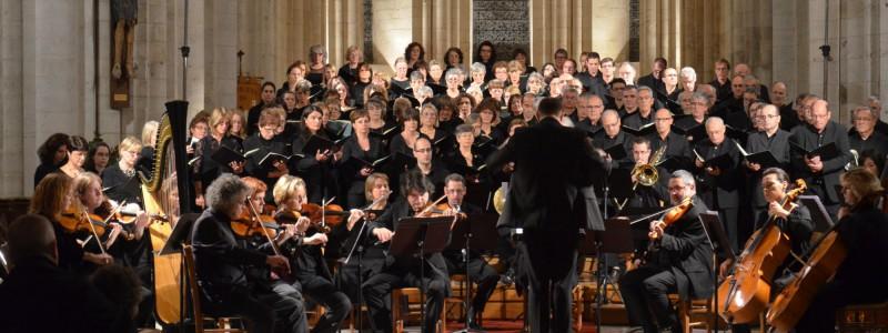 Abbaye St Martin de Boscherville - Requiem allemand Brahms - 2012