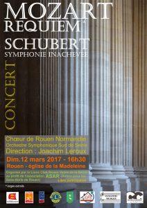 Concert Schubert - Mozart