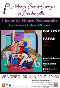 Concert des 30 ans du CRN