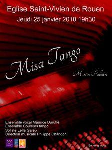 Ensemble Duruflé – St Vivien – 25 janvier 2018 – 19h30