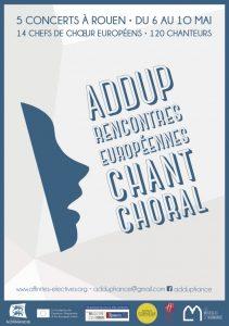 Concert ADD-UP - Rencontres européennes de chant choral - musique polonaise