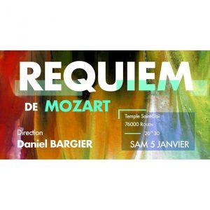Requiem de Mozart Samedi 5 janvier 2019