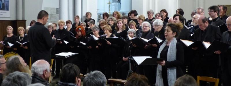 Bihorel - Mendelsshon et Messe en ré de Dvorak - 9 mars 2019 - avec Anne-Cécile Laurent